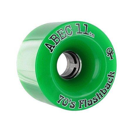 Roda Abec 11 Flashbacks 70mm 84A Verde