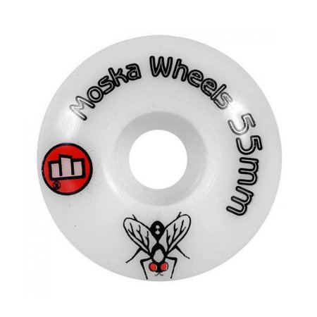 Roda Moska 55mm White Rock