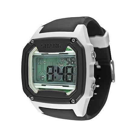 Relógio Freestyle Digital Killer Shark Skeleton White Black