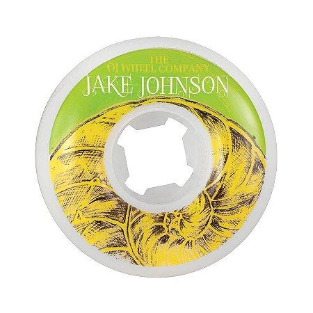 Roda OJ Jake Johnson 55mm 101a Branca