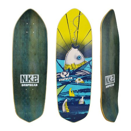 "Shape Drop Dead Cruiser Old Skull Nk2 8.8"" x 27.7"""
