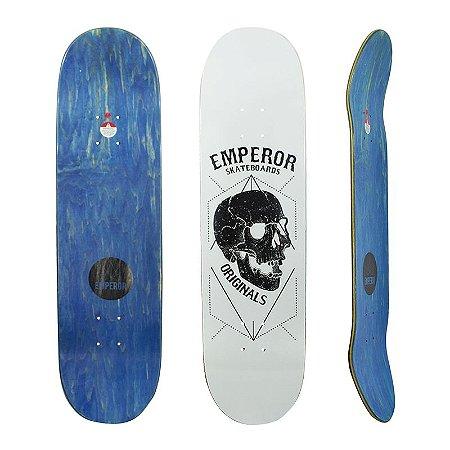 Shape Emperor Maple Black Skull White 8.5