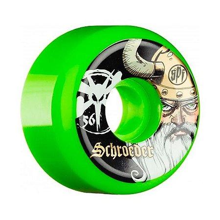 Roda Bones SPF Schroeder Odin 56mm 84B Verde