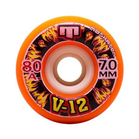 Roda Moska High V-12 Speed 70mm 80a