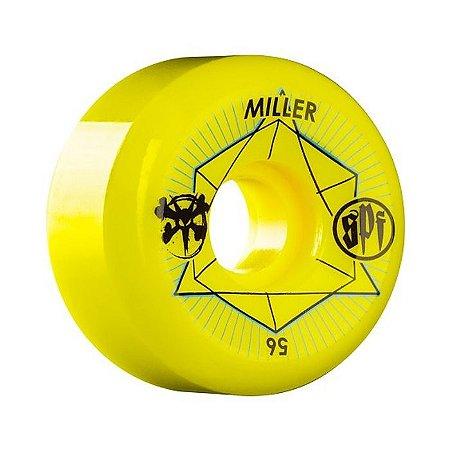 Roda Bones SPF Chris Miller Inner 2 56mm 83B Amarela