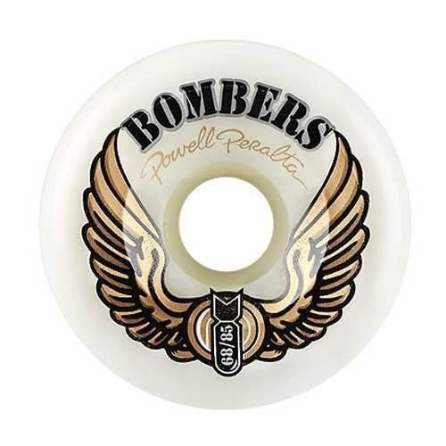 Roda Powell Peralta Bomber 3 68mm 85A Branca