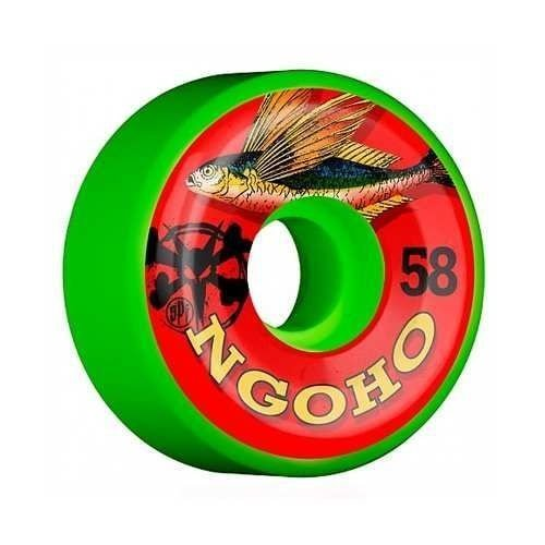 Roda Bones SPF Pat Ngoho Fish 58mm 84B Verde