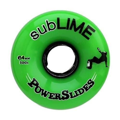 Roda Abec 11 Sublime Powerslides 64mm 100A Verde