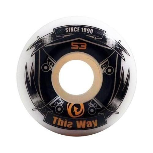 Roda ThisWay Hard 53mm 100A