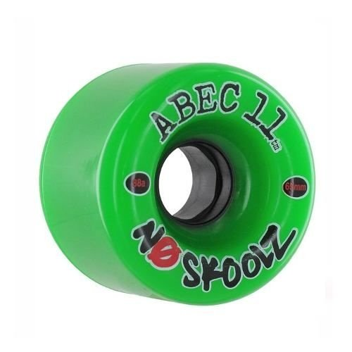 Roda Abec 11 No Skoolz 65mm 88A Verde