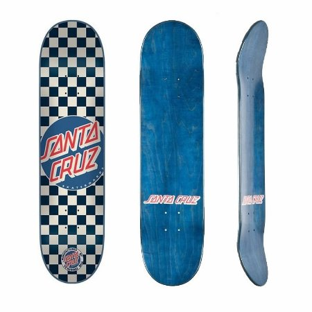 Shape Maple Santa Cruz Check Dot Blue 7.9