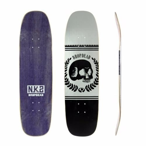 Shape Old School Drop Dead New Skull Silver Nk2 8.8