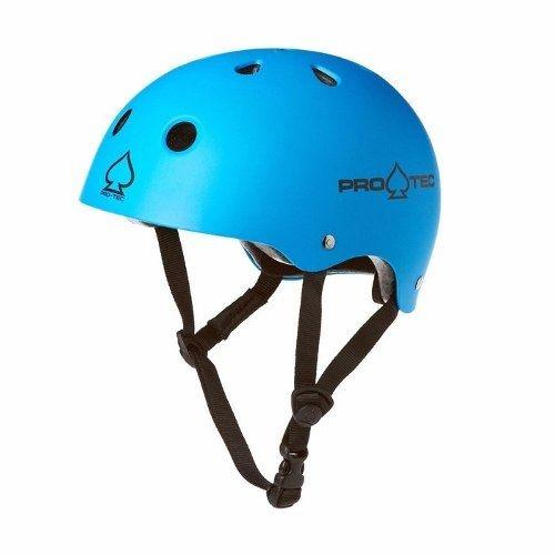 Capacete Protec Classic Skate Matte Blue