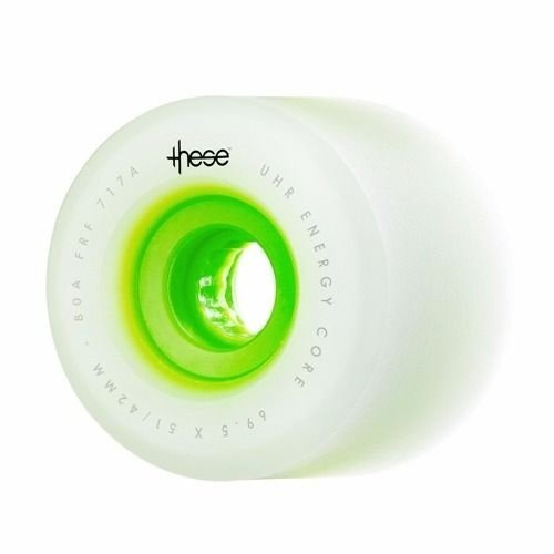 Roda These Free Ride Formule 717 70mm 80A Verde