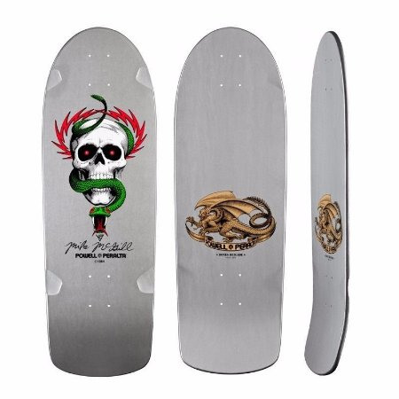 Shape Old School Powell Peralta Mike Mcgill Silver 10""