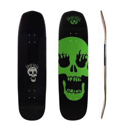 Shape Old School Drop Dead Mad Punk Skull Fire NK2 8.6