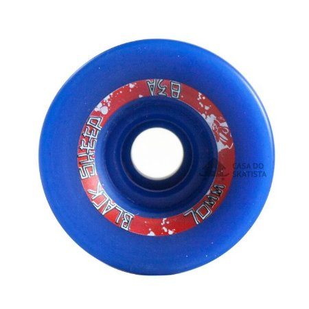 Roda Black Sheep Longboard 70mm 83A Centerset Azul