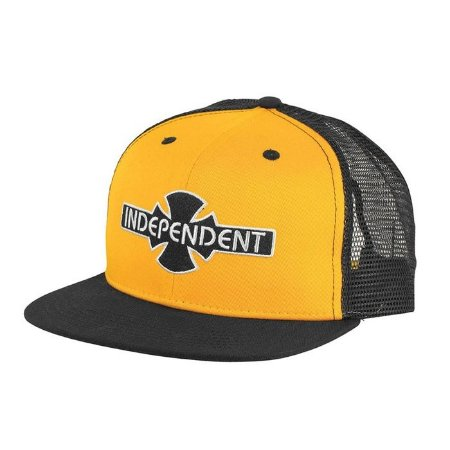 Boné Independent Trucker OGBC Gold/Black