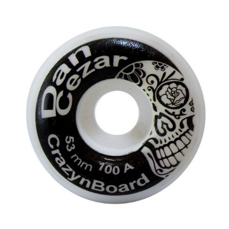 Roda Crazynboard Street Pro Model Dan Cezar 53mm 100A