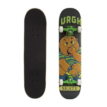 Skate Completo Urgh Kids Monster 7.75