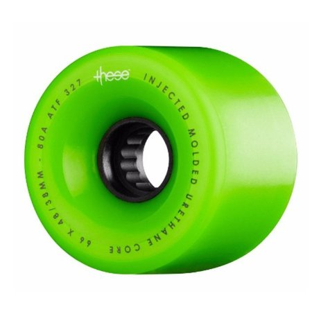Roda These ATF 327 Centerset 66mm 80A Verde