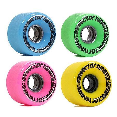 Roda Sector 9 Nine Ball Mix Color 64mm 78a