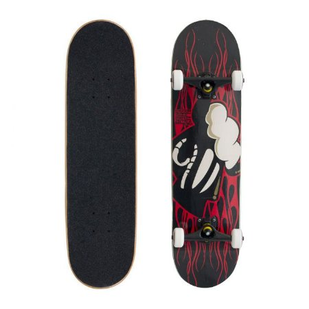 Skate Completo Black Sheep Profissional Chamas 8.0