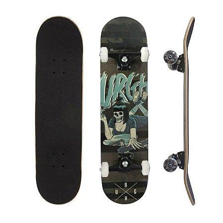 Skate Completo Urgh Special Skull Girl 7.75