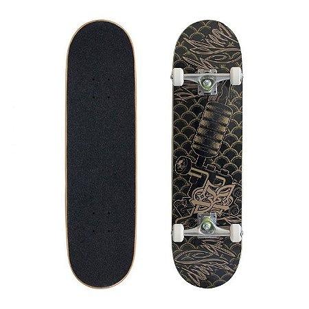 Skate Completo Black Sheep Semi Profissional Tattoo 7.88