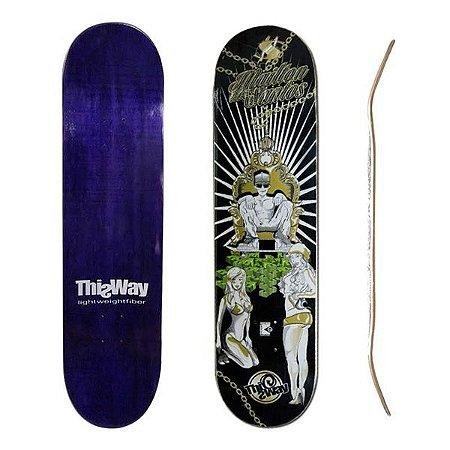 Shape ThisWay Mailton Dos Santos Rei do Skate 8.5