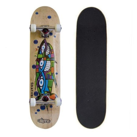 Skate Completo Importado Crème Fish 8.0 - Shape Maple