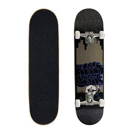 Skate Completo Black Sheep Semi Profissional Night City 7.88