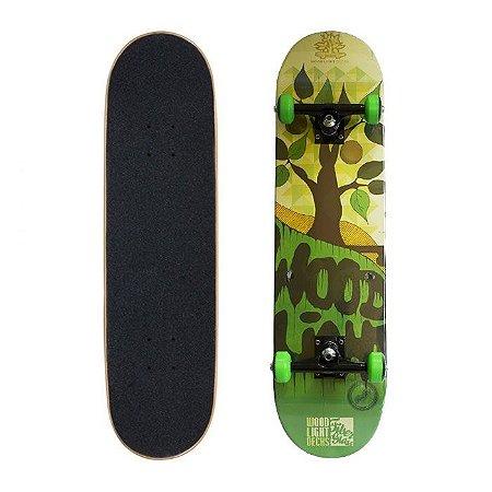 Skate Completo Wood Light Árvore 7.8