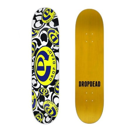 Shape Drop Dead Mash Up Logo 7.9