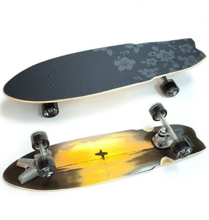 Simulador Surf Skate Zak Noyle Sunset