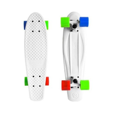 Mini Cruiser Kryptonics Torpedo White 22.5""