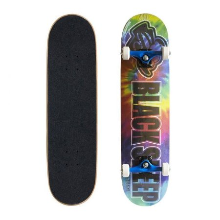 Skate Completo Black Sheep Semi Profissional Tie Dye 7.88