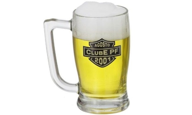 Caneca de vidro para cerveja Taberna-PERSONALIZADA