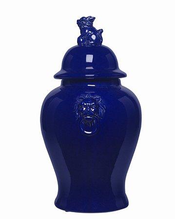 Potiche Azul foo dog
