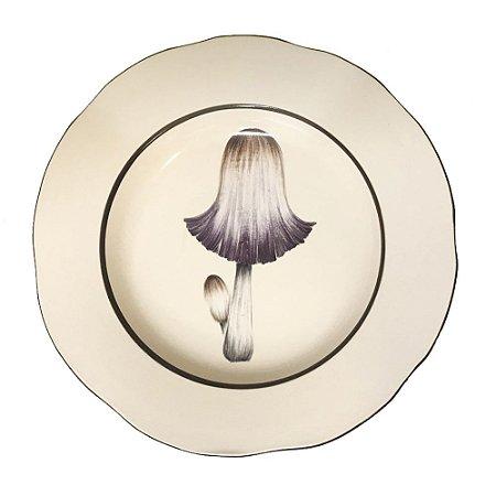 Prato sobremesa cogumelo 3