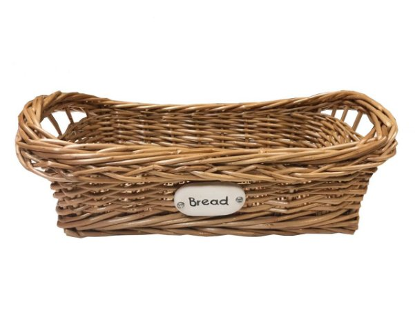 Cesta vime para pão bread