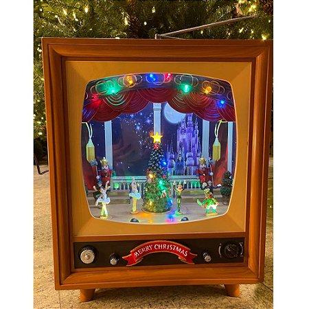 Brinquedo de natal tv cenário musical Ref: AC 882