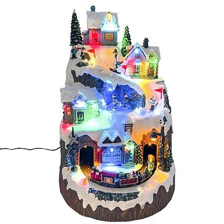 Brinquedo de natal vila alpes Ref: AC 878