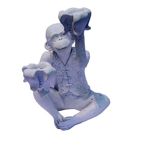 Castiçal Macaco Branco