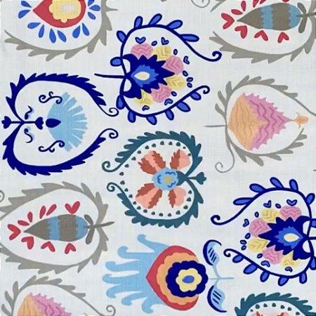 Toalha multi colorida 1,80 x 3,80