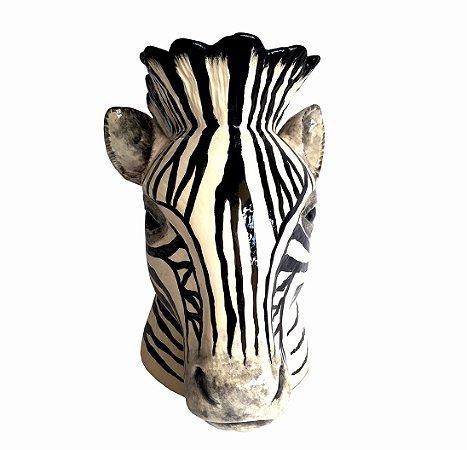 Vaso Zebra Faiança