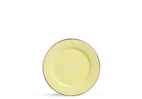 Prato escamas amarelo (sobremesa)