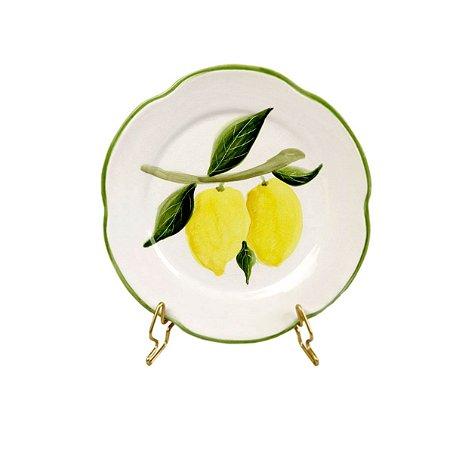 Prato sobremesa Limão siciliano