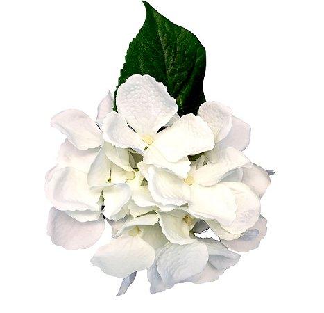 Porta Guardanapo Hortensia Branca (4unidades