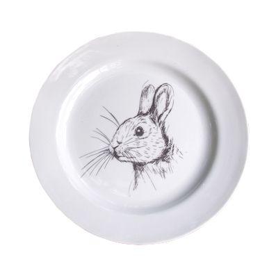 Prato sobremesa Rabbit